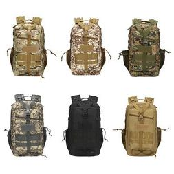 30L Hunting Camouflage Backpack Outdoor Bag Oxford Cloth Spo