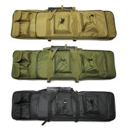 "39"" Tactical Gun Bag Carbine Rifle Range Padded Carry Case S"