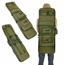 "47"" Tactical Gun Bag Carbine Rifle Range Padded Carry Case S"