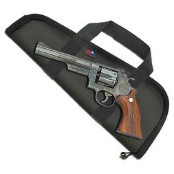 """8-3/8"""" Barrel Pistol Case with Handles Made in USA"""