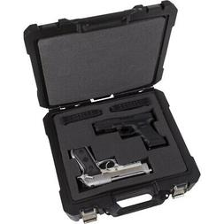 Flambeau Double Wall Safe Shot Double Pistol Case 13.5""