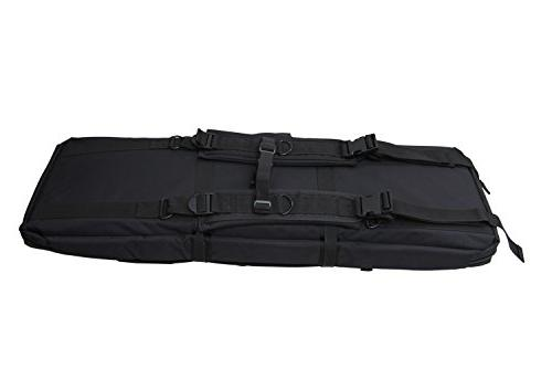 YONGCUN Bag Gun Case Rifle Double Tactical Tactical 36inch Black 600D