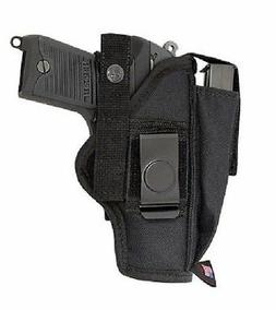 NYLON HIP BELT GUN HOLSTER FOR SMITH & WESSON SD9 VE BY ACE