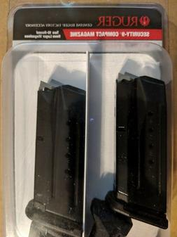 RUGER Security 9 Compact 9mm 10 Round Magazine OEM Value 2 P