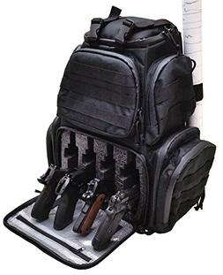 Tactical 4 Pistol Backpack With Rainfly & Molle Straps GEN 2