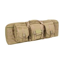 VISM by NcSTAR DOUBLE CARBINE CASE/TAN/36 IN