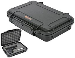 Waterproof Handgun Case Pistol Case with Pre-Cubed Foam Elit
