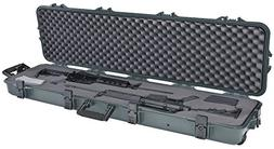 Plano All Weather Double Scoped Rifle/Shotgun Wheeled Case,